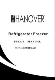 HANRT12AW Manual