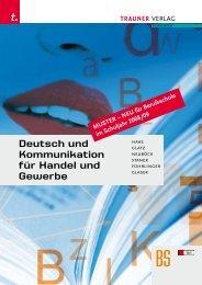 Deutsch und Kommunikation für Handel und Gewerbe
