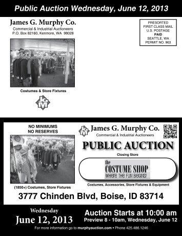 Download pdf Brochure - James G. Murphy Co.