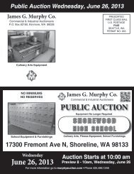 Download pdf Brochure - James G. Murphy Co.