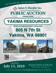 805 N 7th St Yakima, WA 98901 - James G. Murphy Co.