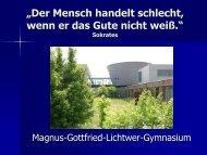 ist die aktuelle Version der Präsentation des - Lichtwer-Gymnasium ...