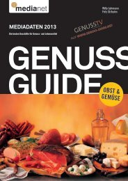 genuss guide - MediaNET.at