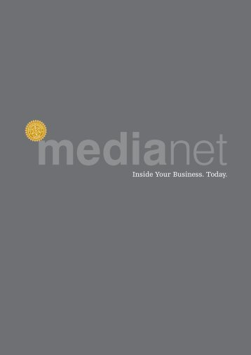 Inside Your Business. Today. - MediaNET.at