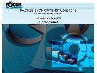 Fachzeitschriftenstudie 2013 - MediaNET.at