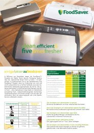 FOODSAVER 2011 Download - Maukner
