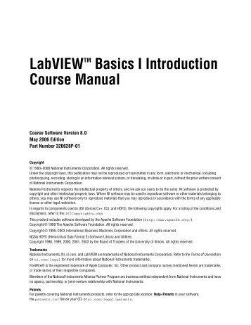 labview basics ii development course manual rh yumpu com