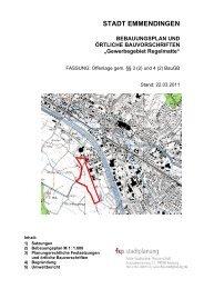 Gewerbegebiet Regelmatte - Stadt Emmendingen