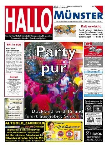 Dockland wird 15 und feiert ausgiebig: Seite 14 - Hallo Münsterland