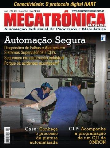 Pintura automatizada Dürr - Mecatrônica Atual