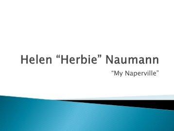 """Helen """"Herbie"""" Naumann"""