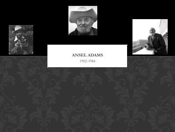 Ansel Adams - Clow Elementary School