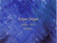 Edgar Degas - Clow Elementary School