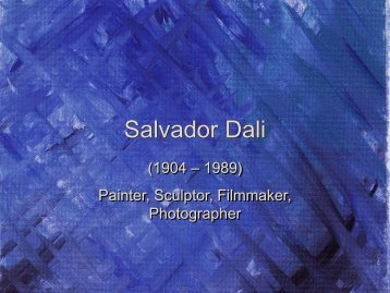 Salvador Dali - Clow Elementary School