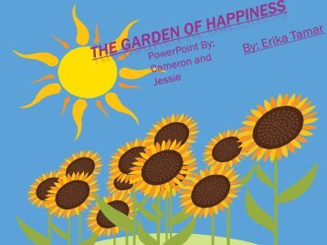 Garden of Happiness by Erika Tamar