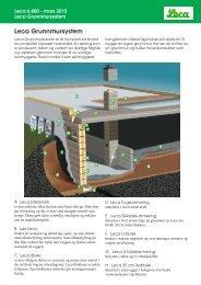 Leca Grunnmursystem - Weber