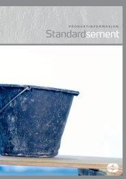 produktark Standardsement
