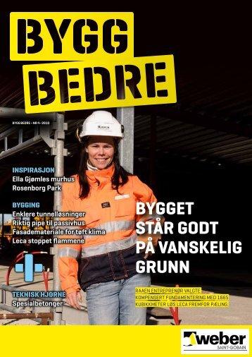 2 Bygg Bedre - Weber