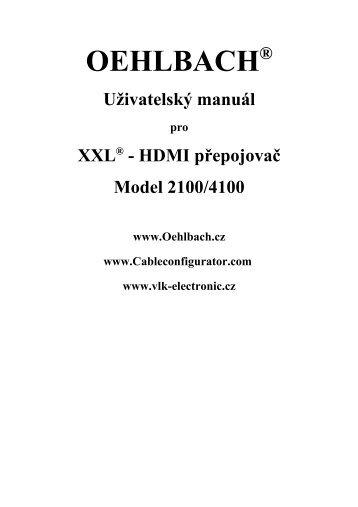 Oehlbach XXL HDMI switch
