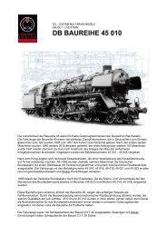 DB BAUREIHE 45 010 - MBV Schug