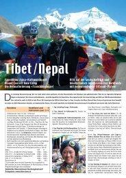 Tibet/Nepal - Bike Adventure Tours