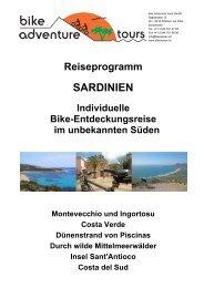 SARDINIEN - Bike Adventure Tours