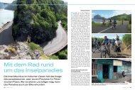 Mit dem Rad rund um das Inselparadies - Bike Adventure Tours
