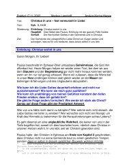 Christus in uns – fest verwurzelt in Liebe - Anskar Kirche Deutschland