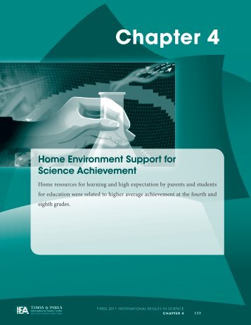 Chapter 4 - TIMSS and PIRLS Home