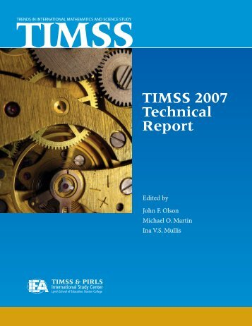 Get the full report - TIMSS and PIRLS Home - Boston College