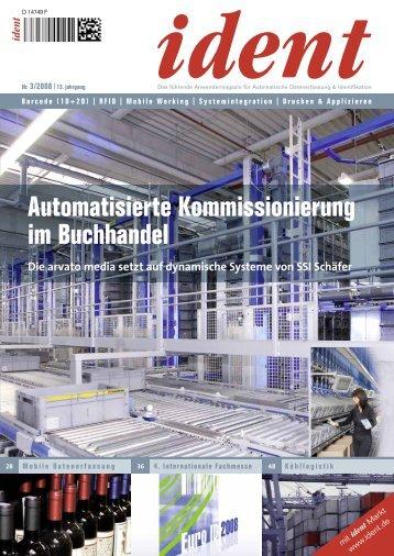 Automatisierte Kommissionierung im Buchhandel