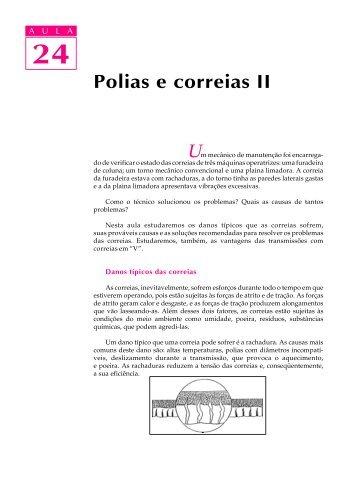 Polias e correias II