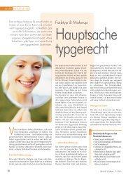 Farbtyp & Make-up - Hauptsache typgerecht - antara - colour of life
