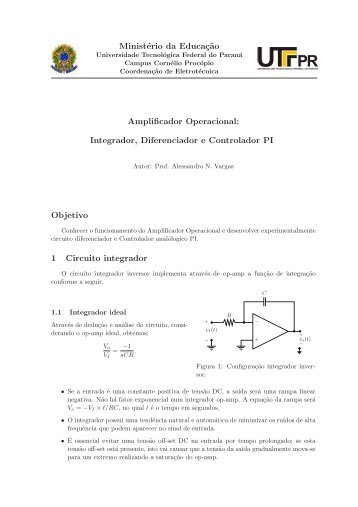 Controlador Proporcional-Integrativo - UTFPR