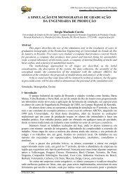 A simulação em monografias de graduação da engenharia de ...
