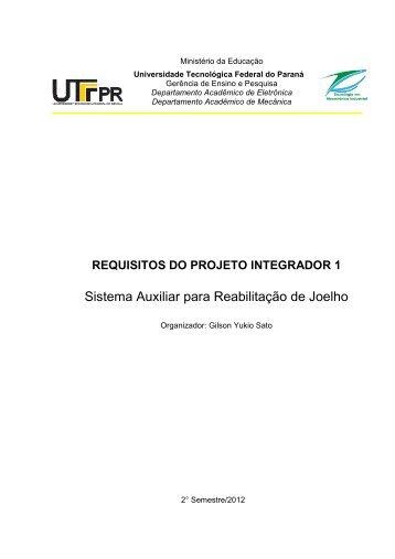 Sistema Auxiliar para Reabilitação de Joelho - UTFPR