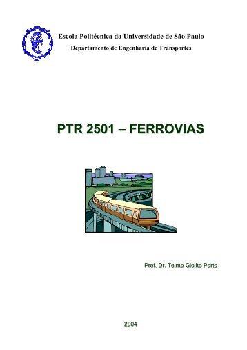 PTR 2501 – FERROVIAS - Gerador de Sites