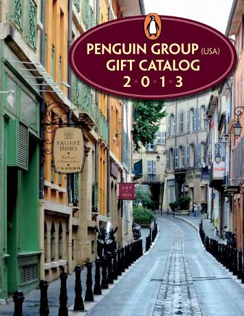 Penguin Group(USA) Gift Catalog 2 • 0 • 1 • 3 - Bookseller Services ...