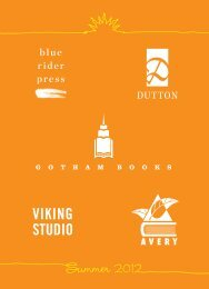 Dutton/Gotham, Summer 2012 - Bookseller Services - Penguin Group