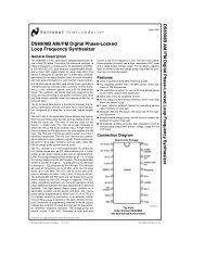 am-fm radio frequency synthesizer