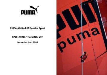 PUMA AG Rudolf Dassler Sport - About PUMA