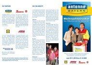 vom 29.11.2010 bis 21.12.2010 - Antenne  Bayern