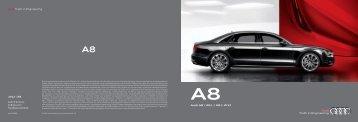 A8 Brochure - Audi of America