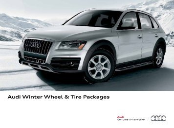 Audi Winter Wheel & Tire Packages - Audi of America