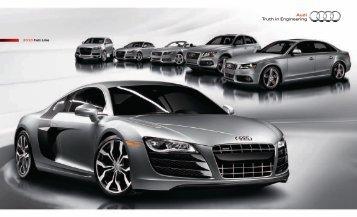 2010 Full Line - Audi of America