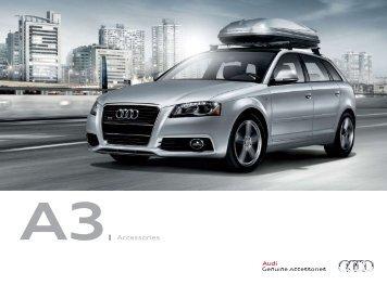 A3  Accessories - Audi of America