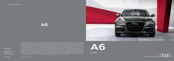 2012 Audi A6 Brochure - Audi of America