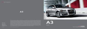Audi A3 - Audi of America