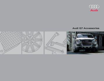 Audi Q7 Accessories - Audi of America