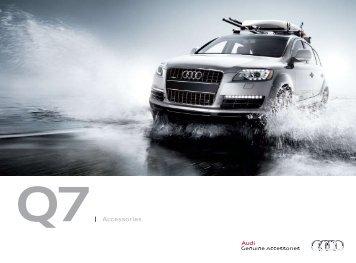 Q7  Accessories - Audi of America